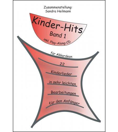 Kinder-Hits für Akkordeon - mehrbändig