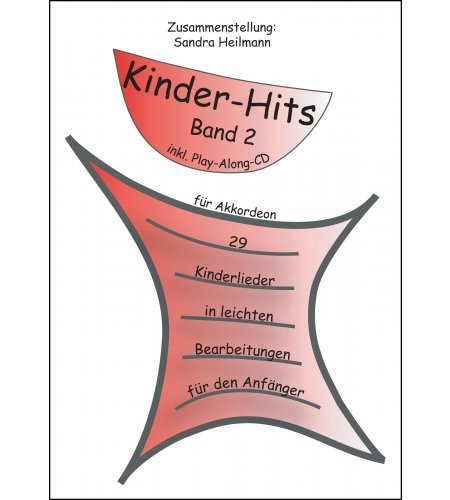 Kinder-Hits für Akkordeon Band 2