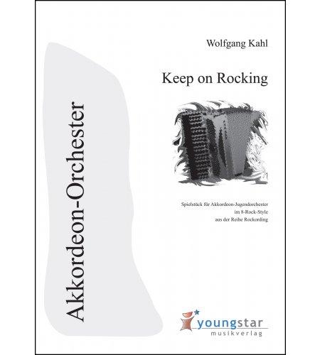 Keep on Rocking - Partitur