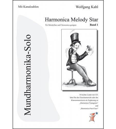 Harmonica Melody Star - mehrbändig