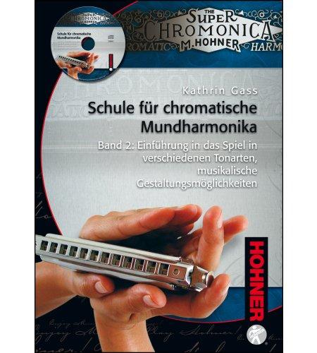 Schule für chromatische Mundharmonika - Band 2