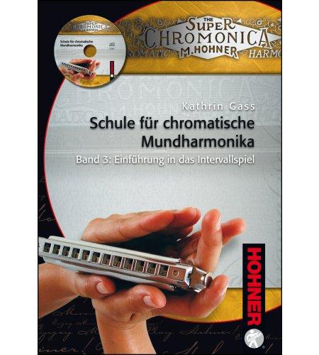 Schule für chromatische Mundharmonika - Band 3