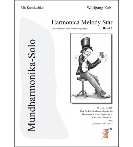 Harmonica Melody Star - Band 2