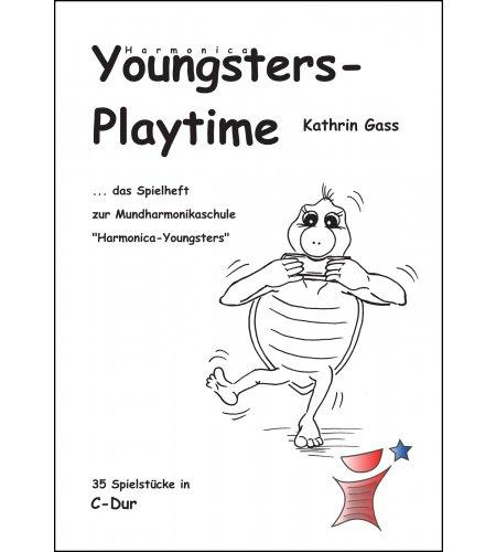 Harmonica Youngsters-Playtime - Spielheft für die Mundharmonika Melody-Star
