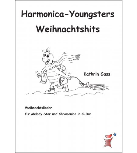 Harmonica-Youngsters Weihnachtshits Heft