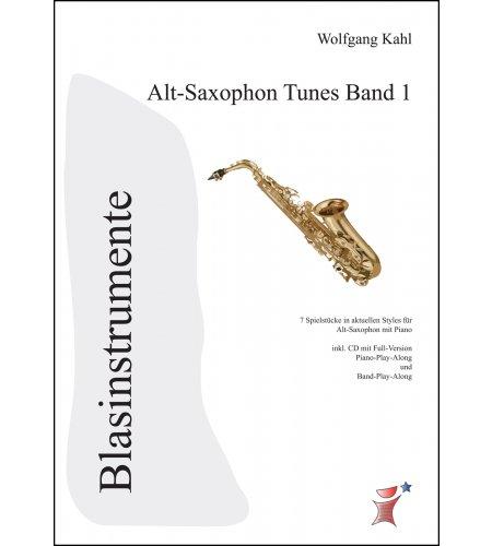 Alt Saxophon Tunes Band 1