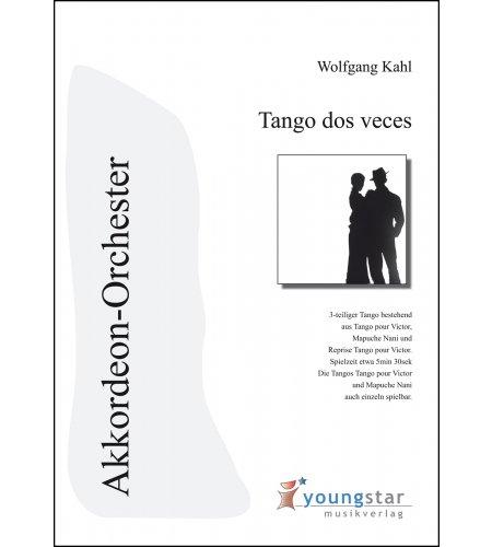 Tango dos veces - Partitur