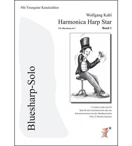 Harmonica Harp Star Band 1 - Youngstar Tabs