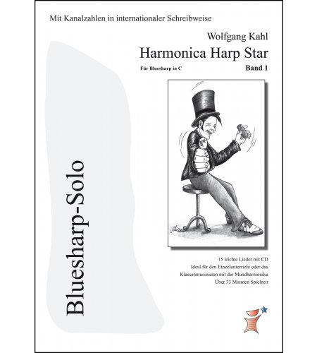 Harmonica Harp Star Band 1 - internationale Tabs