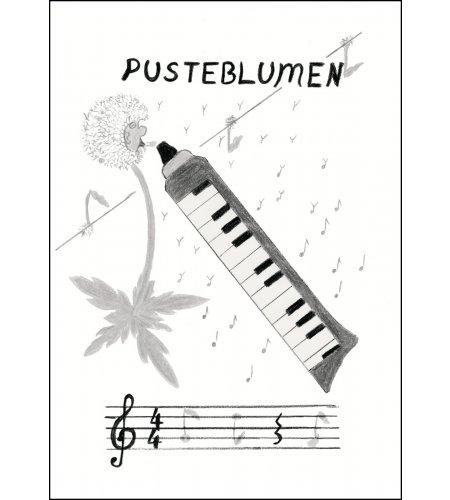 Pusteblumen für Melodika - Noten inkl. CD