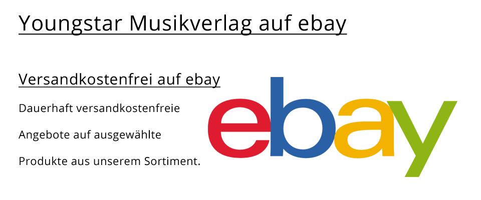 Youngstar Musikverlag auf ebay